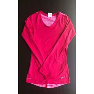 Nike Dri-Fit Long Sleeve Top XS